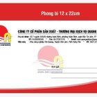 Mẫu phong bì đẹp công ty CPSX – TMDV Quang Anh