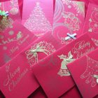 Tổng hợp những mẫu phong bì thư giáng sinh đẹp