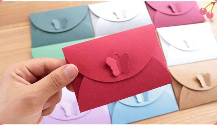 Những cô nàng độc thân vui vẽ cũng có thể tự gấp cho mình một mẫu phong bì thư cực đáng yêu nhé