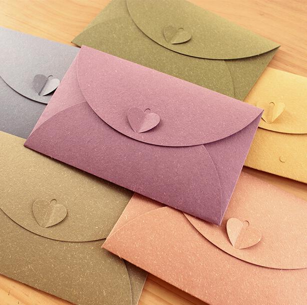 Mẫu gấp phong bì thư thật dễ thương và mơ mộng dành cho những cô nàng đang fall in love
