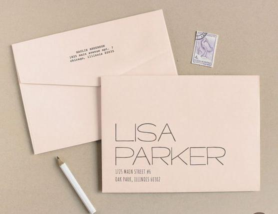 Sự kết hợp của font chữ và bố cục khi thiết kế tạo nên một mẫu in phong bì công ty đẹp dù vô cùng đơn giản nhưng vẫn rất hiện đại và độc đáo